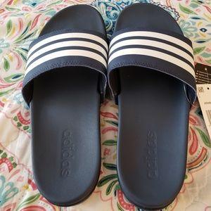74073d1c27779 adidas Shoes - Adidas Adilette Cloudfoam Ultra Stripes Slides